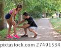 sport, knee, woman 27491534