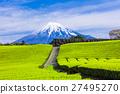 富士山 翠绿 鲜绿 27495270