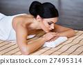 女性 按摩 放松的 27495314
