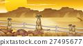 meerkat, wildlife, desert 27495677