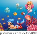 animal, sea, water 27495899
