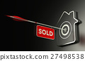Real Estate Sold Concept, Efficient Sale Strategy. 27498538