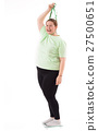 Fat Woman on Weighing Machine 27500651