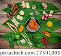 Various of Thai food Cooking ingredients . 27501003