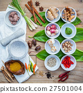 Various of thai food cooking ingredients . 27501004
