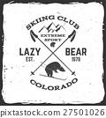 Ski club concept. 27501026