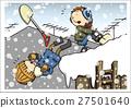 矢量 除雪 雪國 27501640
