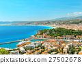 Panoramic view of Nice, Mediterranean Sea, France 27502678