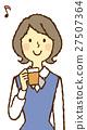 小姐OL咖啡休息 27507364
