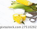 Organic corn from the fields and materials for des 27510262