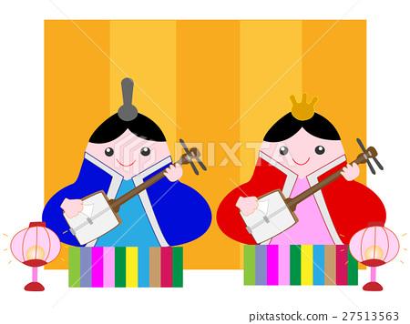 矢量 女儿节 女孩的节日 27513563