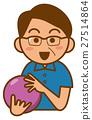 保齡球 矢量 球 27514864