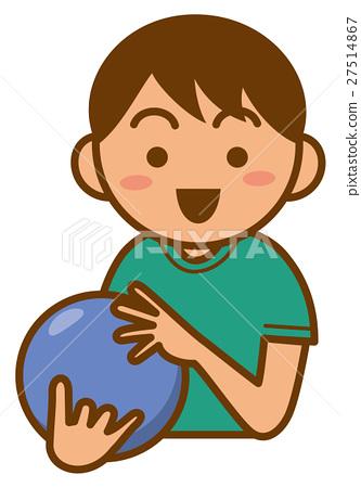 保齡球 矢量 球 27514867