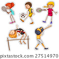 People doing different kinds of sports 27514970