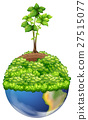 Green plants on earth 27515077