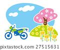 봄, 투어링, 오토바이 27515631