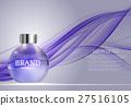Shower Gel Bottle Template for Ads or Magazine 27516105