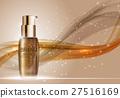 Skin Toner Bottle Template for Ads or Magazine 27516169