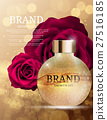 Shower Gel Bottle Template for Ads or Magazine 27516185