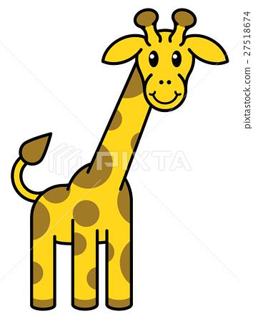 Cartoon Giraffe Animal 27518674