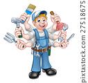 Cartoon Handyman 27518675