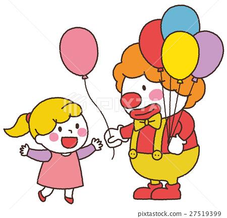 小丑 女孩 少女 27519399