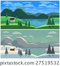 Mountain valley landscape 27519532