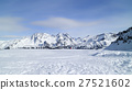 snow mountains skiing winter resort Courchevel 27521602