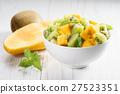 mango and kiwi fruit salad 27523351