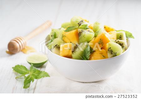 mango and kiwi fruit salad 27523352