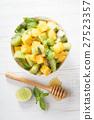 mango and kiwi fruit salad 27523357