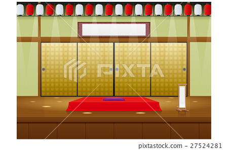 The stage of Rakugo 27524281