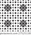 abstract ethnic seamless floral pattern design 27525138
