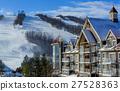 Blue Mountain Village in winter 27528363