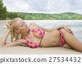 on beach 27534432