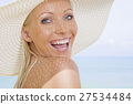 smiling woman 27534484