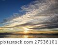 lake biwa, morning glow, sunrise 27536101