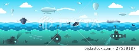 Panorama of the high seas 27539187