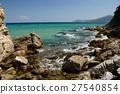 Beach with rocks,somewhere in Greece 27540854