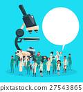 Group Medial Doctors Team Scientist Working 27543865