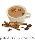 茶 杯子 肉桂 27545074