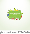 apple, banner, berry 27546020