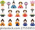 dolls for girl's festival, material, materials 27550953