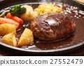 汉堡 汉堡牛排 西餐 27552479