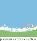 เมือง,สายรุ้ง,ท้องฟ้า 27552637