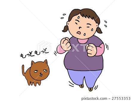 胖乎乎的 丰腴 肥胖 27553353