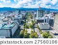 城市景觀 樓宇密集區 建築面積 27560106