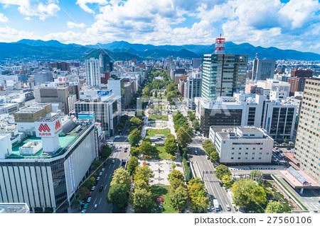 【Hokkaido】 Sapporo · Urban landscape 27560106