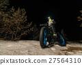 Fatbike. Fat tire bike. 27564310