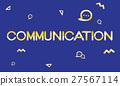 Geometric Font Media Technology Sharing Concept 27567114